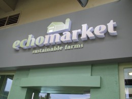 ECHOmarket: Eco-sustainable, eco-friendly