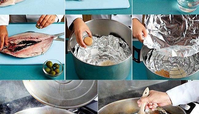 Making Boneless Smoked Milkfish
