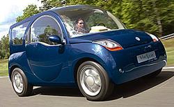The Blue Car Lady