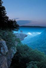 cliff whitaker point trail arkansas