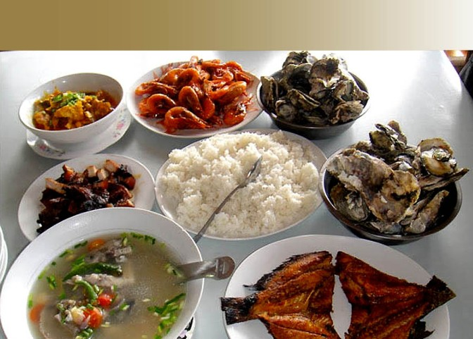 Piad's Seafood Restaurant in Dumangas