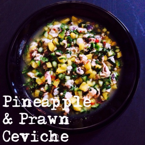 pineapple ceviche